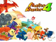 Nostalgia Quest Monster Rancher 4 for the Playsation Released in 2003 it's one of that greatest games for the and of the Monster Rancher series. Monster Rancher, Like U, Mobile Wallpaper, Bowser, Ranger, Nerdy, Nostalgia, Fun House, Playstation 2