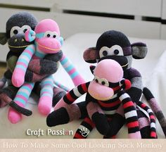 How To Make Some Cool Looking Sock Monkey