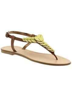 Cynthia Vincent - Tegan Flats Sandals