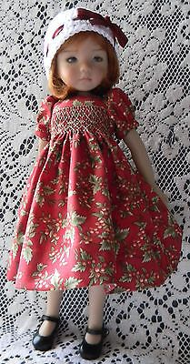 Cute-Smocked-Dress-for-Effner-Little-Darling-13-034-doll-by-lkb