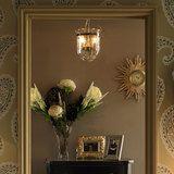 Berwick Glass and Brass Pendant Light alternative image