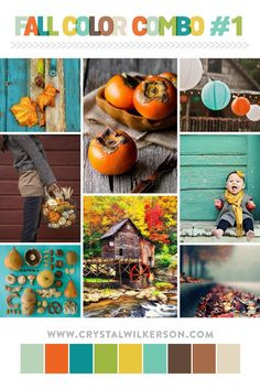 What a lovely fall inspired color palette!