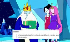 """Bubbline in """"Broke His Crown"""" + text posts 1/?"""