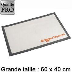 Tapis de cuisson fibre de verre pro 60x40cm