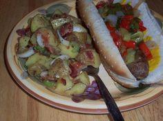 Hot German Potato Salad Recipe | Salad Recipes