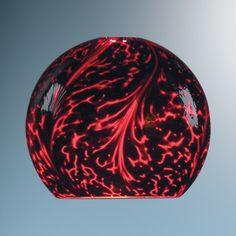 Bruck Lighting K74107rd/blk Zon Glass