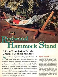 Hammock Stand Plans - Outdoor Plans