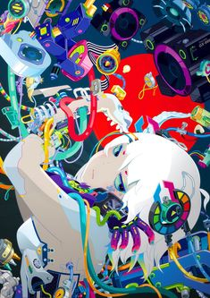 The Strikingly Unique and Colorful Art of Hiroyuki-Mitsume Takahashi
