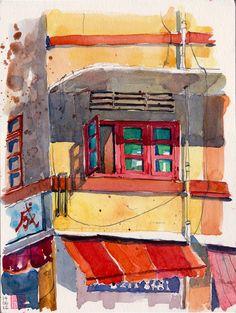 Shophouse @ Geylang | by PaulArtSG