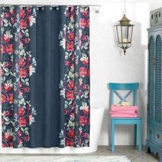 Anthology Penelope 72 Inch X 72 Inch Shower Curtain