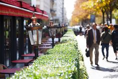 Fouquet's on Avenue Georges V