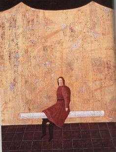≪部屋の遊戯≫1979年 有元利夫 Japanese Modern, Painter Artist, Japanese Painting, Japan Art, Japanese Artists, Figurative Art, New Art, Modern Art, My Arts