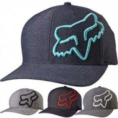 e7e0a6db38ed0 Fox Racing Clouded Mens Caps Motocross Off Road Flexfit Hats   LandscapingIdeasAndTips Fox Racing Clothing