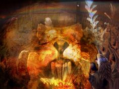 Revelation 10, Painting, Art, Art Background, Painting Art, Kunst, Paintings, Performing Arts, Painted Canvas