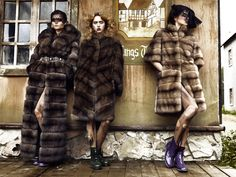 Julia Dliua Collection. These coats (and pics) are just so beautiful. Breathless.