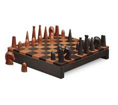 Large Samarcande Chess Set | Hermès Games