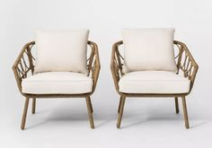 Screened In Porch, Club Chairs, Rattan, Accent Chairs, Armchair, Sofa, Early Childhood, Foyer, Target