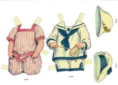 Las Zapatillas de Campanilla: Muñecas recortables