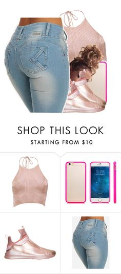 """""""Tammy**my sister**(for my story)🍑"""" by jchristina ❤ liked on Polyvore featuring interior, interiors, interior design, home, home decor, interior decorating, Boohoo and Puma"""