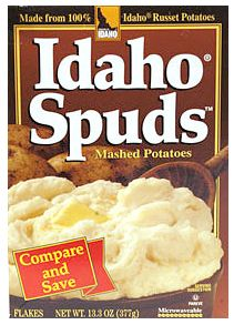 B3G1 FREE Idaho Spuds Mashed Potatoes Coupon on http://hunt4freebies.com/coupons