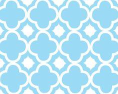 Free Quatrefoil Patterns in 4 different colors, Plus Chevron and Tquatrefoil patterns. LOVE!