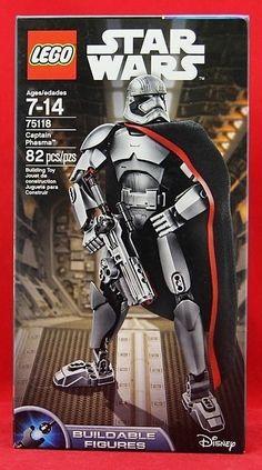 LEGO Star Wars: The Force Awakens Captain Phasma Building Block Toy Set 75118 #LEGO