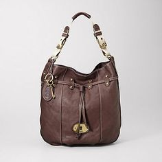 Fossil. I actually have this purse, love it!