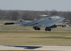 B-2 bomber fleet set record in April 2014 for sorties & hours flown in a single month, according to officials at Whiteman AFB, Mo., home to these stealth bombers. Members of Whiteman's 509th Bomb Wing, together with their partners in the Missouri Air National Guard's 131st BW, flew 142 sorties in the month, amassing 839.3 hours, states the base's May 9, 2014, release. Here, Spirit of California, one of the Air Force's 20 B-2s, takes off from Whiteman, April 9, 2014.  Air Force SrA. Bryan…