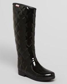 Hunter Rain Boots - Sandhurst Savoy  Bloomingdale's