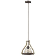 Middlefield Iron Rust One Light Pendant With Smoked Glass Fredrick Ramond Dome Pendant Lig