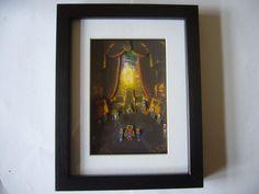 """Chronna Trigger  """"The Trial """"  3D Diorama Shadow Box $32.32 #3ddiorama #diorama #gifts #giftsforhim #chronnatrigger"""