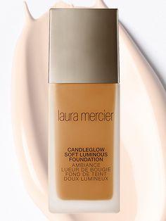 Liquid Foundations - Laura Mercier Candleglow Soft Luminous Foundation | allure.com