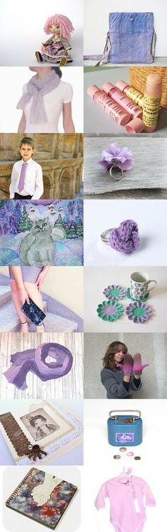 Lavender Valentine by Gergina Radeva on Etsy--Pinned with TreasuryPin.com
