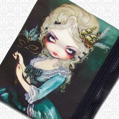 Marie Masquerade bag Jasmine Becket Griffith zippered by HautTotes, $15.75