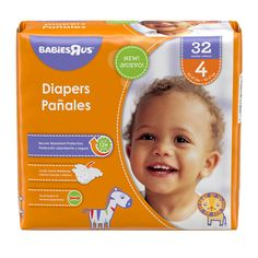 Babies R US Diapers are designed with a super absorbent core that provides outstanding leakage protection for up to 12 hours.  They offer a great flexible fit with adjustable tabs and a comfortable stretch waistband.<br><br>Perfect for parents that are seeking value while retaining brand name quality, <b>Babies'R'Us</b> offers a complete line of the baby care, baby bath and baby accessories that families are looking for. #BRUNewDiapers
