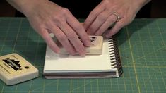 How to start on a blank all white art journal page....and make a background.