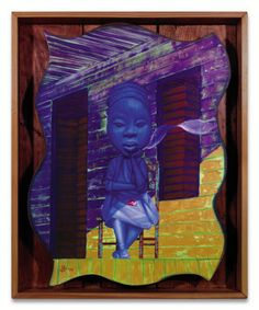"""The Blue Woman"" by Jeffrey Gaddy"