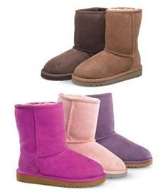I had a pair of UGGs a long time ago. I should get another pair. I think they're adorable. And SO comfy!