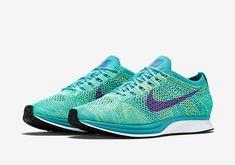 half off 9c1d1 ef3af Nike Flyknit Racer - Sport Turquoise - Hyper Grape - Volt