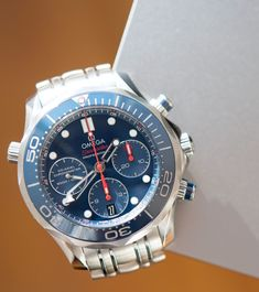 667057e8541 Omega Seamaster 300M Co-Axial Chronograph 41.5mm Watch Review Wrist Time  Reviews