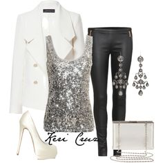 """New Year's Eve"" by keri-cruz on Polyvore"