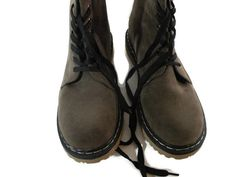 Shoes of Soul Lace-Up Boots - Brown Suede Size 9 NEW IN BOX retail 59.99 #SHOESOFSOUL #AnkleBoots #any