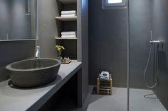 Projeto equipado com torneiras Flow, da Waterevolution, um exclusivo da Padimat Design + Technic Showroom, Bathtub, Bathroom, Design, Taps, Construction Materials, Bath, Kitchens, Log Projects