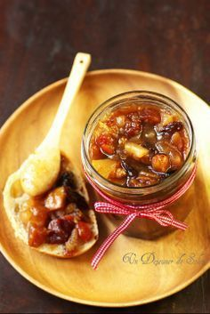 Christmas jam A sun lunch Veggie Recipes, Cooking Recipes, Christmas Jam, Compote Recipe, Healthy Eating Tips, Food Gifts, Food Menu, Easy Meals, Food And Drink