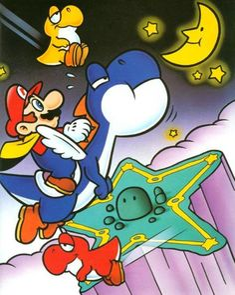 Star Road, Super Mario World, SNES.