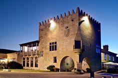 Baiona, Galicia, España.  Parador.