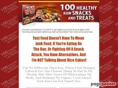 Cool 100 Healthy Raw Snacks And Treats - Healthy snacks that taste great. Natural - Sugar Free - No Cook - Living Nutrition for Living Bodies.