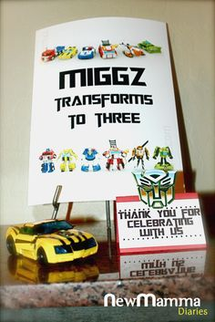 Our son Miguel's third birthday came soon enough this past weekend! Two months ago, I planned up a Transformers-themed birthday party for him as mentioned in this blog post. I promised to do …