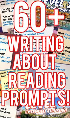 Do your students have reading time in class? Do you/would you like to have them write about their reading? This is a great way to help them with their writing. Just pick a slide, put it up, and let the writing flow!  Included are 60+ reading response prompts to help get your students going. Each question is presented on a sticky note background as many teachers stickies for reading responses. The prompts also work great if your students use reading note books as well.