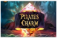 Travel the dangerous seas with brave buccaneers in search of golden charms when you play Quickspin's Pirate's Charms #slot upon it's release May 8th 2018- https://www.freeslotmoney.com/pirates-charm-slot/